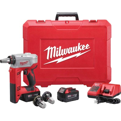 Milwaukee M18 18 Volt Lithium-Ion Cordless ProPEX Expansion Tool Kit