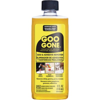 Weiman Goo Gone 4 Oz. Adhesive Remover