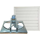 "Ventamatic Cool Attic 36"" Belt Drive Over 3200 sq ft Whole House Fan Image 1"