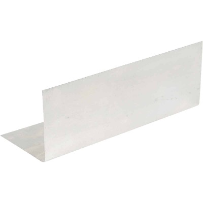 Amerimax 4 In. x 8 In. Mill Aluminum Pre-Bent Step Flashing
