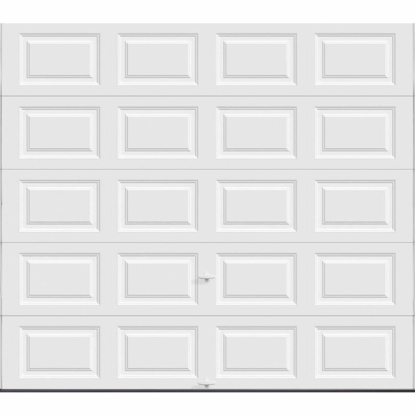 Holmes Gold Series 9 Ft. W x 8 Ft. H White Insulated Steel Garage Door w/EZ-Set Torsion Spring Image 1