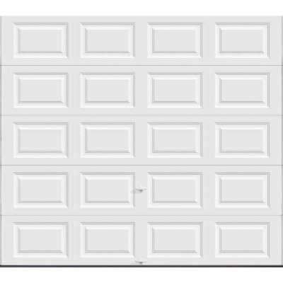 Holmes Gold Series 9 Ft. W x 8 Ft. H White Insulated Steel Garage Door w/EZ-Set Torsion Spring