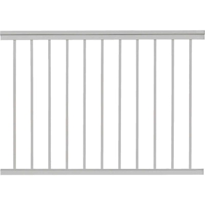 Gilpin Summit 36 In. H. x 4 Ft. L. White Aluminum Railing