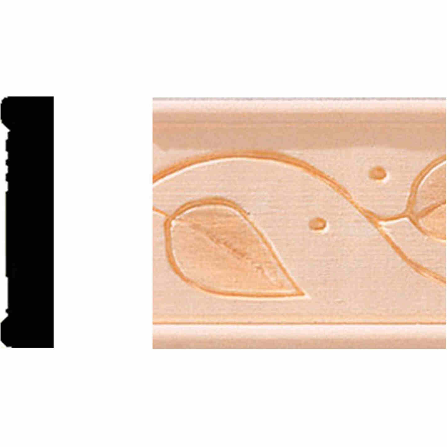 House of Fara 11/32 In. x 1-3/4 x 8 Ft. Decorative Vine Detail Molding Image 1