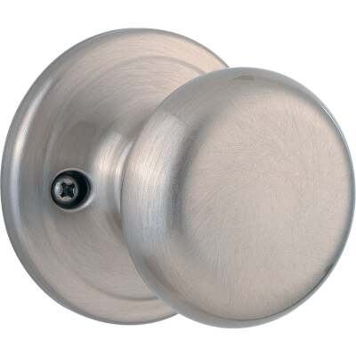 Kwikset Signature Series Satin Nickel Juno Dummy Door Knob