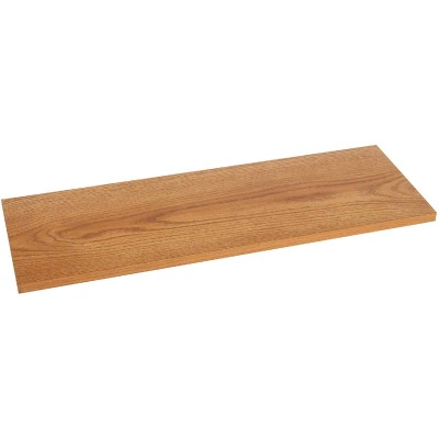 Knape & Vogt 10 In. x 24 In. Oak All-Purpose Shelf