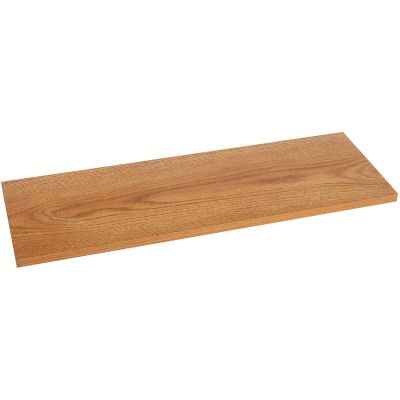 Knape & Vogt 12 In. x 24 In. Oak All-Purpose Shelf