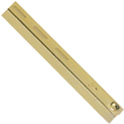Knape & Vogt 80 Series 24 In. Brass Adjustable Shelf Standard