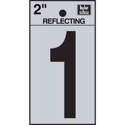 Hy-Ko Vinyl 2 In. Reflective Adhesive Number One