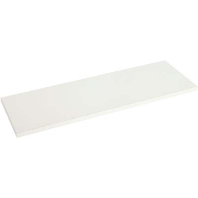 Knape & Vogt 8 In. x 36 In. White All-Purpose Shelf