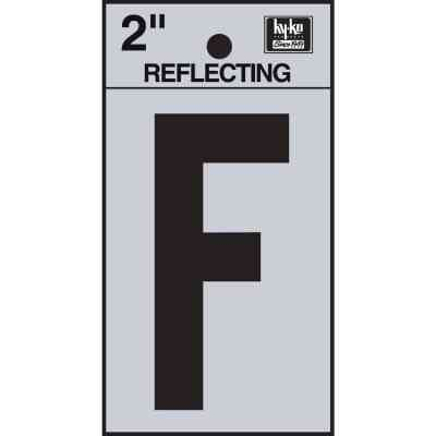 Hy-Ko Vinyl 2 In. Reflective Adhesive Letter, F