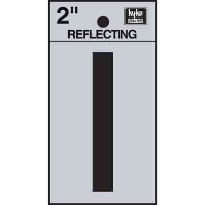 Hy-Ko Vinyl 2 In. Reflective Adhesive Letter, I