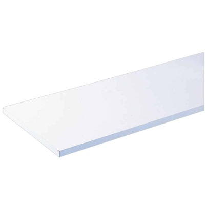 Knape & Vogt 10 In. x 36 In. White All-Purpose Shelf
