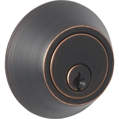 Steel Pro Oil Rubbed Bronze Single Cylinder Deadbolt