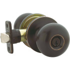 Steel Pro Oil Rubbed Bronze Entry Door Knob  Image 3