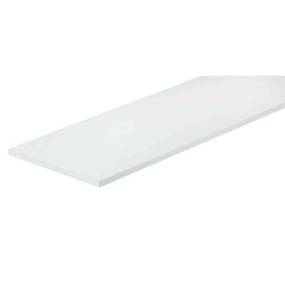 Knape & Vogt 12 In. x 48 In. White All-Purpose Shelf