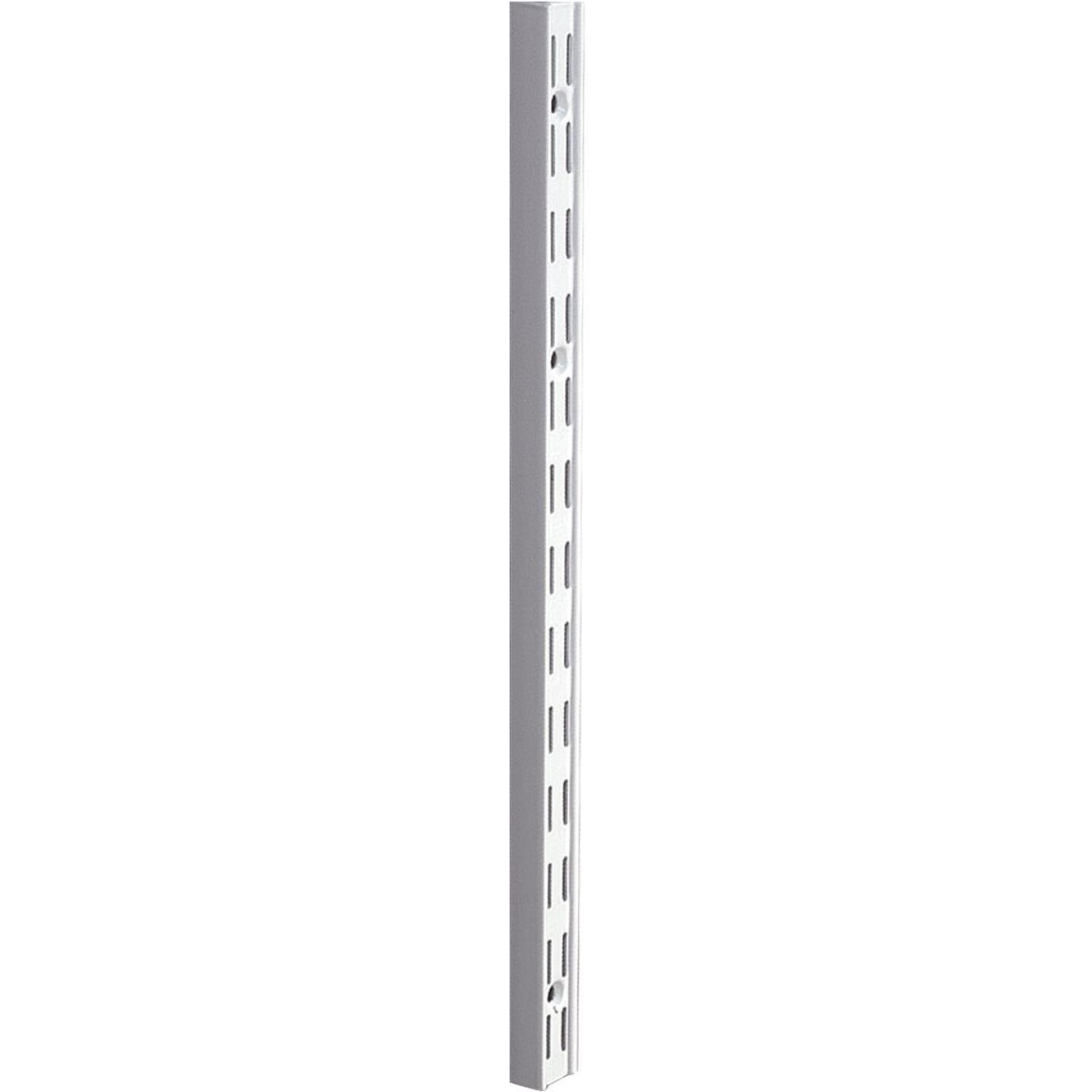 Knape & Vogt 82 Series 39 In. Titanium Steel Heavy-Duty Double-Slot Shelf Standard Image 1