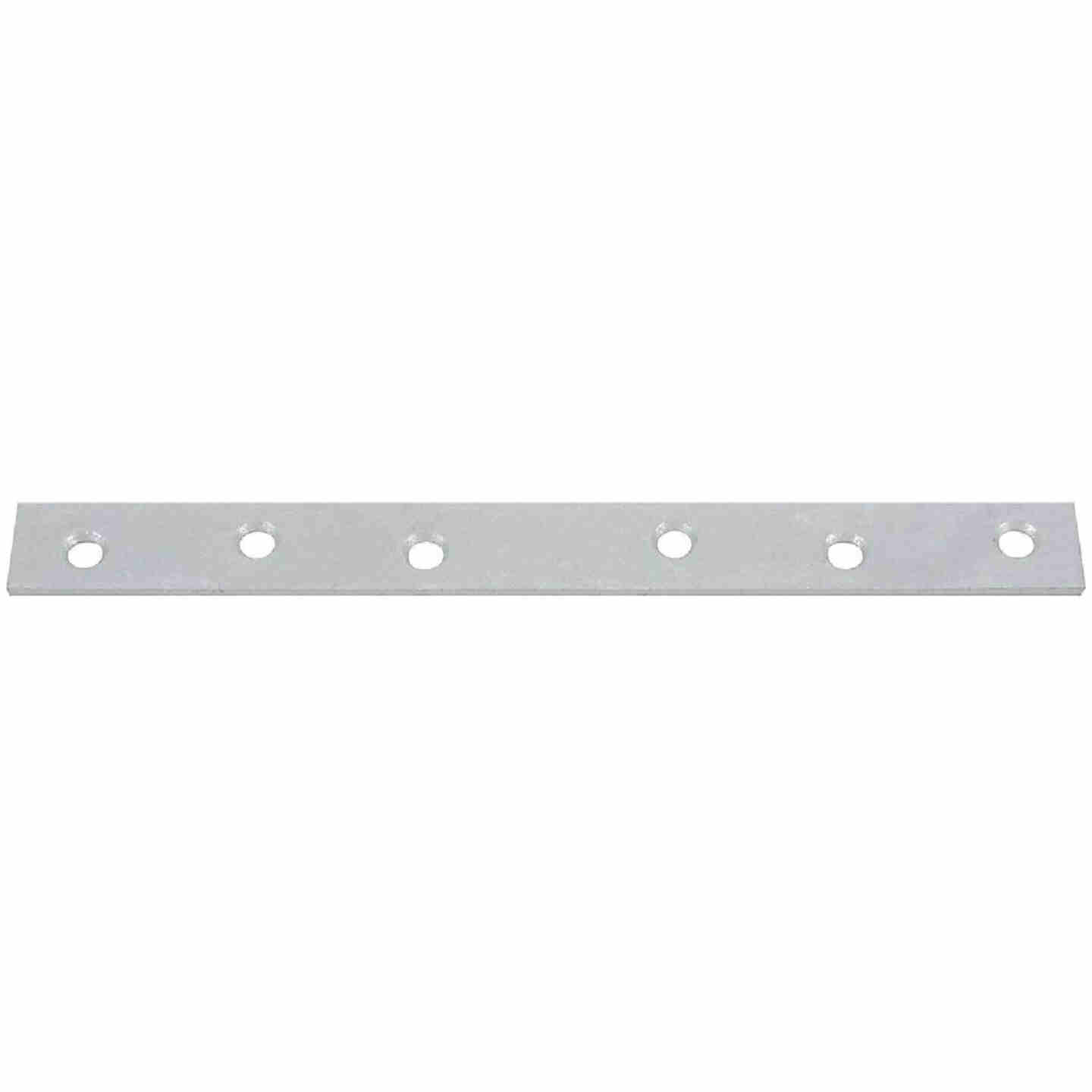 National Catalog 118 10 In. x 1 In. Galvanized Steel Mending Brace Image 1