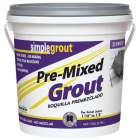 Custom Building Products Simplegrout Gallon Earth Pre-Mixed Tile Grout Image 1