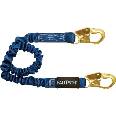 Fall Tech Sure-Stop 4-1/2 to 6 Ft. Shock Absorbing Lanyard