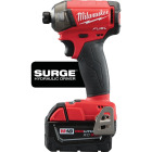 Milwaukee M18 FUEL SURGE 18 Volt Lithium-Ion Brushless 1/4 In. Hex Hydraulic Cordless Impact Driver Kit Image 3