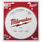 Milwaukee 12 In. 80-Tooth Fine Finish Circular Saw Blade Image 2