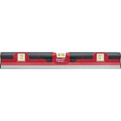 Milwaukee Redstick 24 In. Aluminum Concrete Screed Box Level