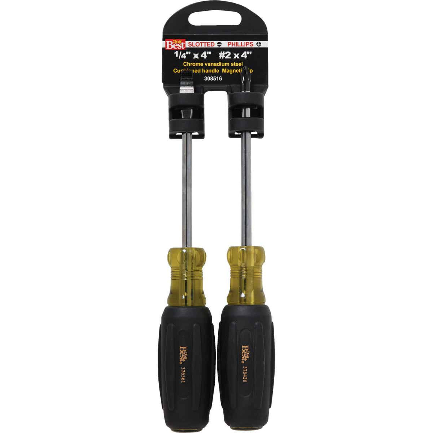 Do it Slotted & Phillips Screwdriver Set (2-Piece) Image 1