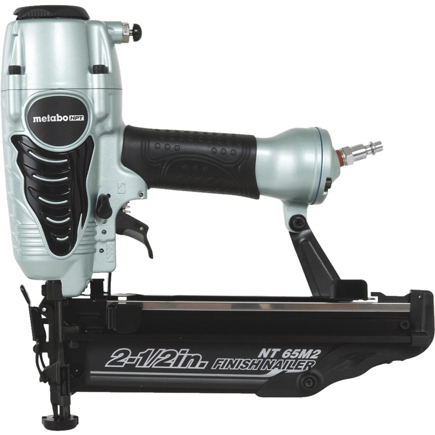 Metabo 16-Gauge 2-1/2 In. Straight Finish Nailer with Air Duster Image 1