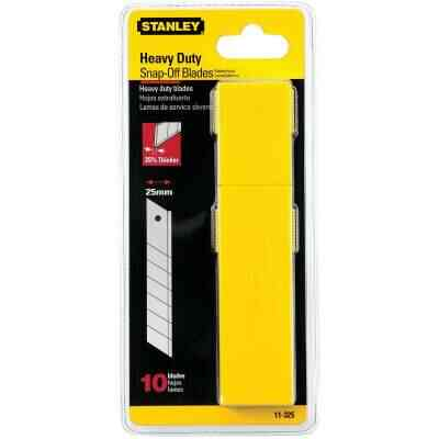 Stanley QuickPoint 25mm 7-Point Snap-Off Knife Blade (10-Pack)