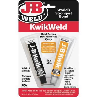 J-B Weld (2) 1 Oz. KwikWeld Epoxy