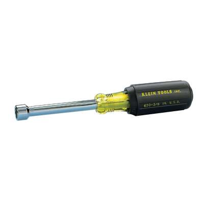 Klein Standard 7/16 In. Nut Driver with 3 In. Hollow Shank