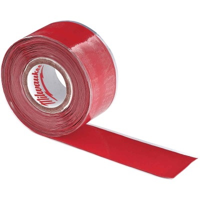 Milwaukee 2-1/2 In. W x 12 Ft. L Self-Adhering Lanyard Tape