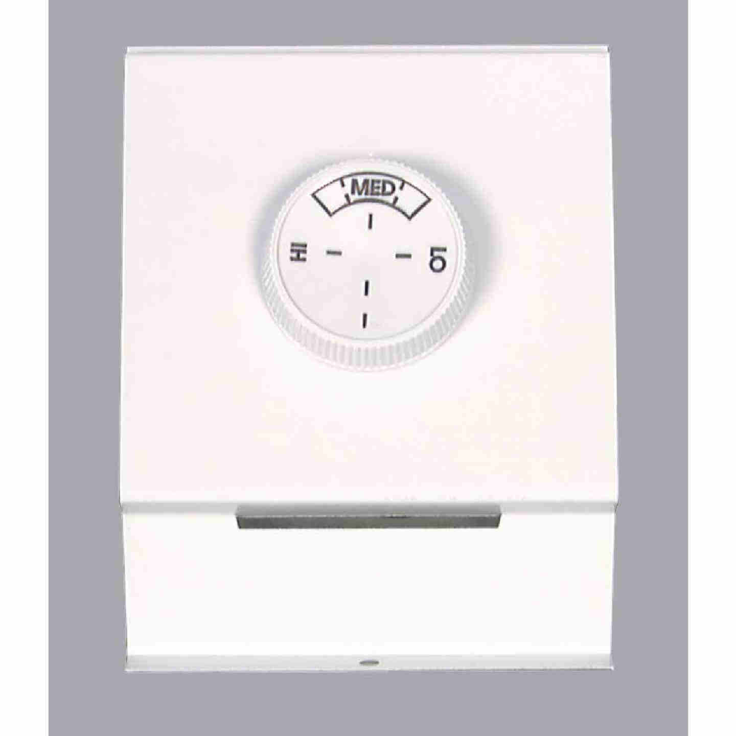 FAHRENHEAT White Single 22A at 120-277V AC Electric Baseboard Heater Thermostat Image 1
