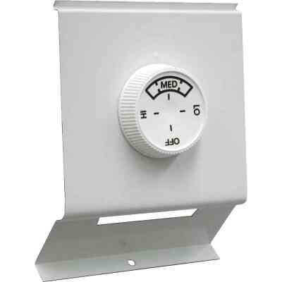 FAHRENHEAT White Double with Off Position 22A at 120-277V AC Electric Baseboard Heater Thermostat