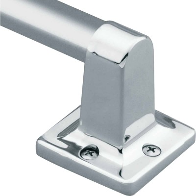 Moen Home Care 16 In. x 7/8 In. Exposed Screw Grab Bar, Chrome