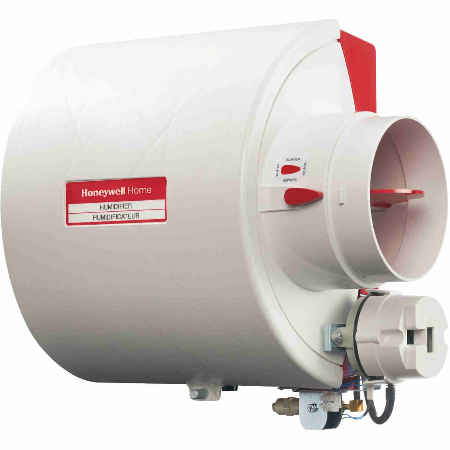 Honeywell Home 10.94 In. W. x 12.75 In. H. x 9 In. D. Whole House Flow-Thru Bypass Furnace Humidifier Image 1