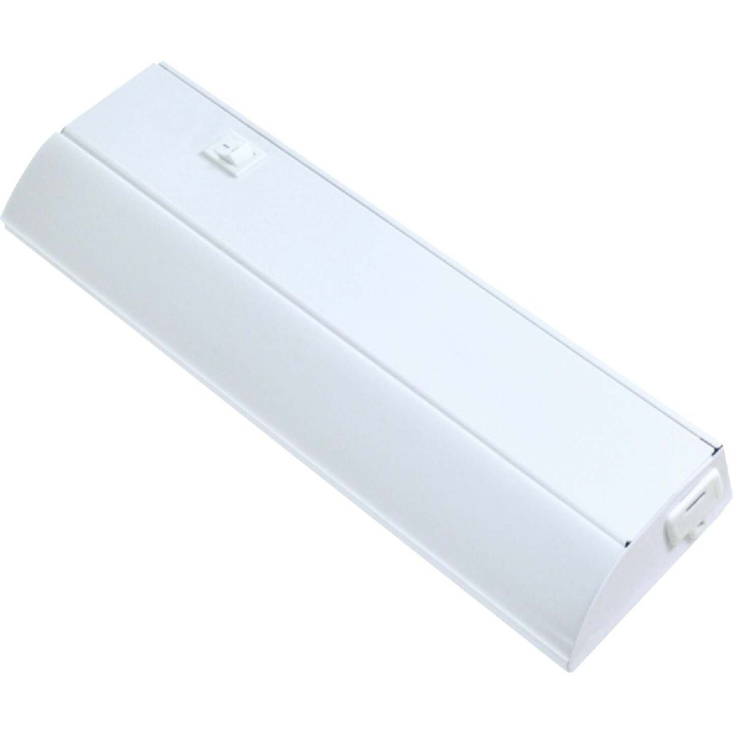 Good Earth Lighting Ecolight 12 In. Direct Wire White LED Under Cabinet Light Bar Image 1