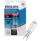 Philips 75W 120V Clear GY8.6 Base T4 Halogen Special Purpose Light Bulb Image 1