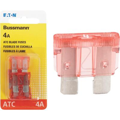 Bussmann 4-Amp 32-Volt ATC Blade Automotive Fuse (4-Pack)