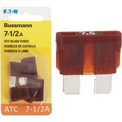 Bussmann 7-1/2-Amp 32-Volt ATC Blade Automotive Fuse (4-Pack)