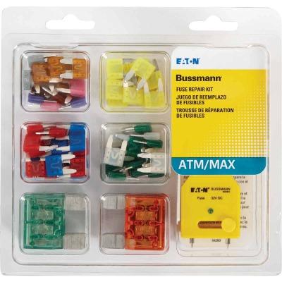 Bussmann ATM, MAX & FT Blade Fuse Assortment (64-Piece)