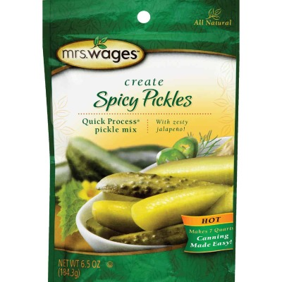 Mrs. Wages Quick Process 6.5 Oz. Hot Spicy Pickling Mix