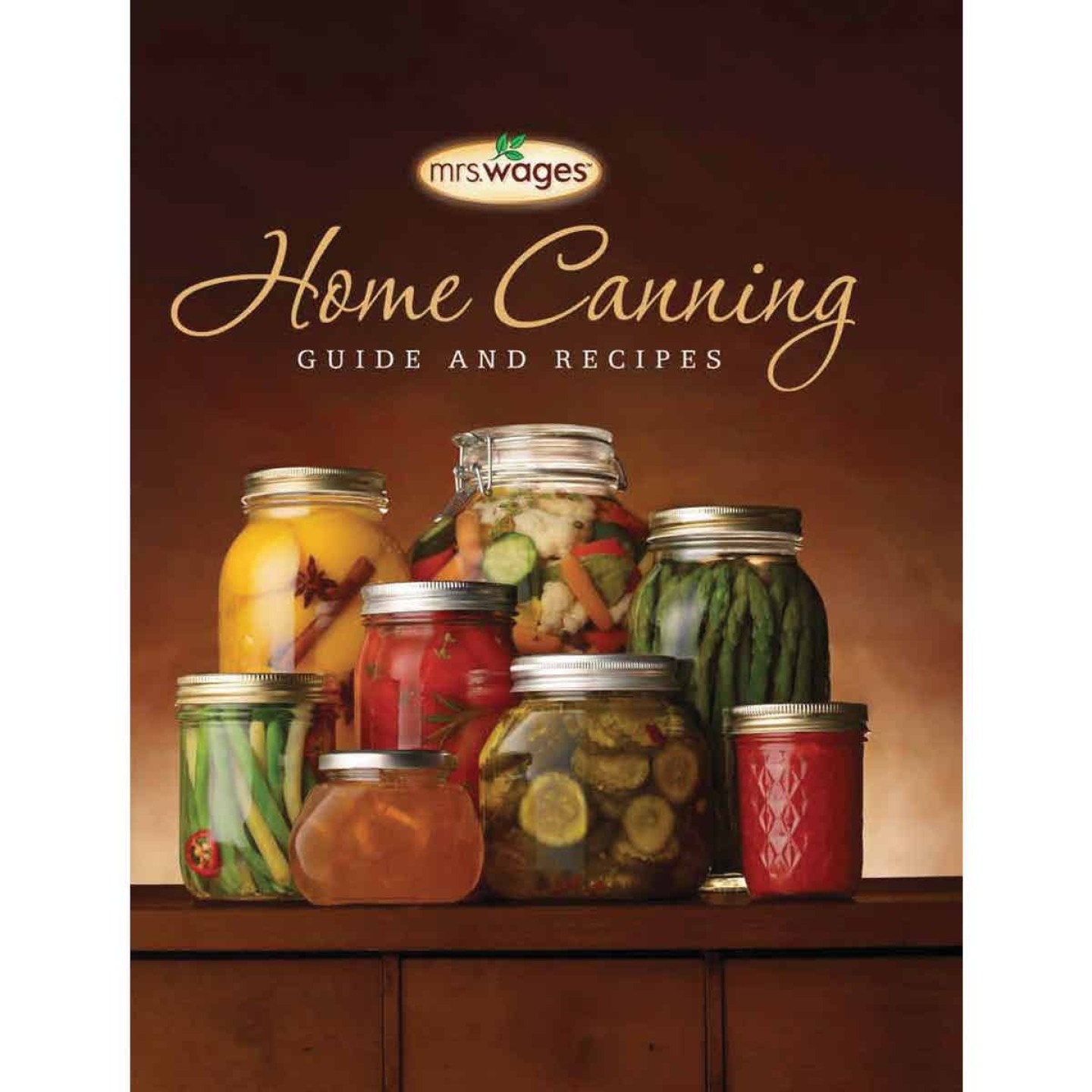 Mrs. Wages Home Canning Guide Book & Recipes Image 1