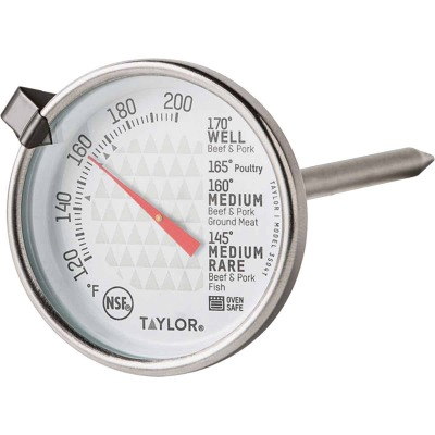Taylor TruTemp Meat Dial Kitchen Thermometer