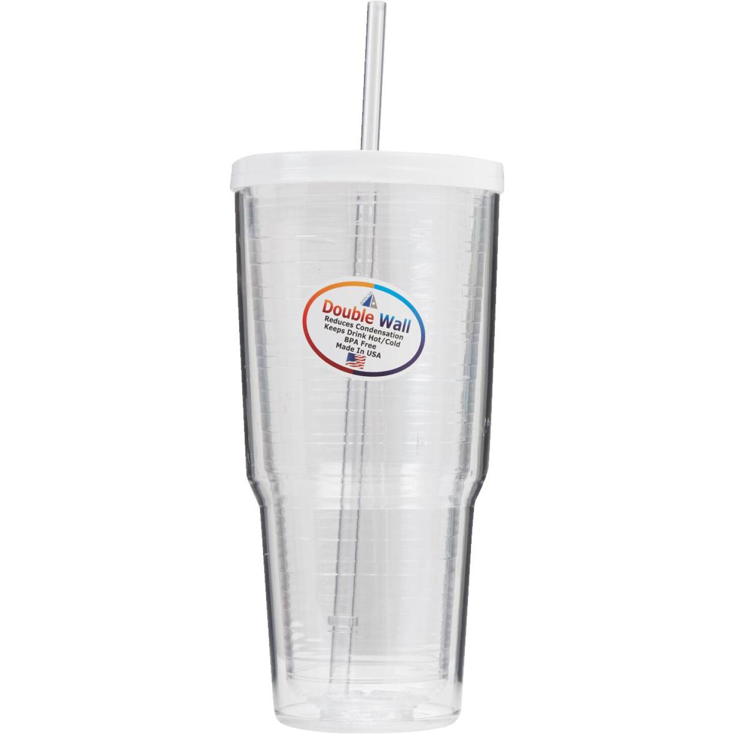 Arrow 24 Oz. Double Wall Insulated Tumbler Image 3