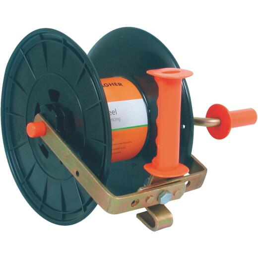 Gallagher UV Stabilized 9.4 In. x 11.4 In. x 9.8 In. Electric Fence Wire Reel
