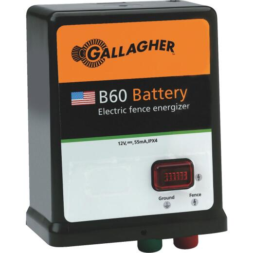 Gallagher B60 40-Acre Battery Electric Fence Charger