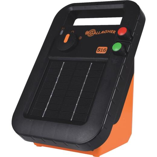 Gallagher S16 30-Acre Solar Electric Fence Charger