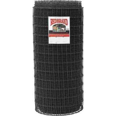 Keystone Red Brand 48 In. H. x 100 Ft. L. Black Painted Galvanized Steel Class 1 Square Deal Non-Climb Horse Fence